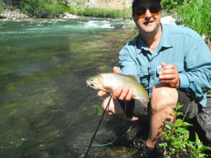Happy Client on the Twisp River