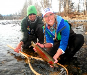 Kari's first Steel on the fly