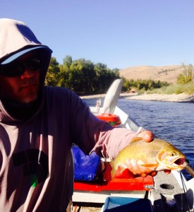 Tony and Sheela live together in a run south of Twisp. Greg caught both in two casts.